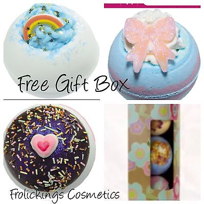 Bomb Cosmetics Bath Bombs With Free Gift Box