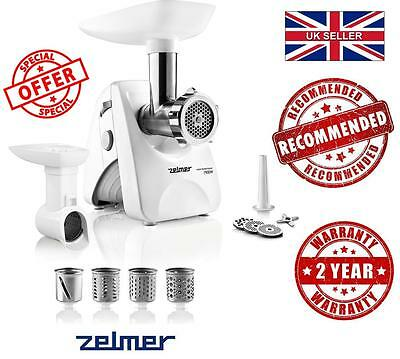 Best NEW Electric Kitchen ZELMER (BOSCH) MM1200.84 MEAT MINCER GRINDER SHREDDER