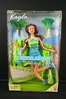 2003 Mattel Barbie Kayla Cheerleader Ever-Flex Body #3930