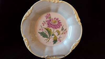 Vintage Coalport Signed D. Simmin England #6 Chrysanthemum Patterned Plate