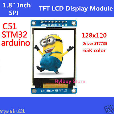 "1.8"" inch Full Color 128x120 SPI Full Color TFT LCD Display Module replace OLED"
