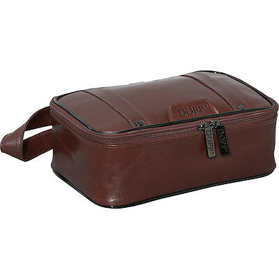 Dopp Veneto Top Zip Travel Kit 2 Colors Toiletry Kit NEW
