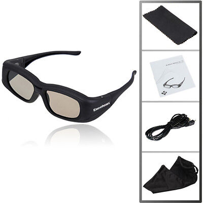 4X Rechargeable 3D Active Shutter Glasses Bluetooth for Panasonic Samsung Sony