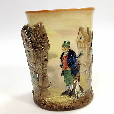 Rare ROYAL DOULTON Dickens Ware SERIES BILL SYKES AND HIS DOG Spill VASE D5864