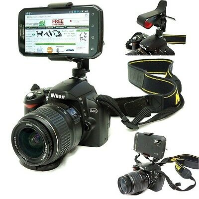 DSLR Smartphone Hot Shoe Flash Camera Mount. Free Delivery
