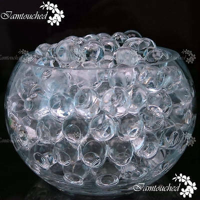 55000X Clear Water Bio Gel Soil Ball Beads Bridal Wedding Vase Centerpiece Decor