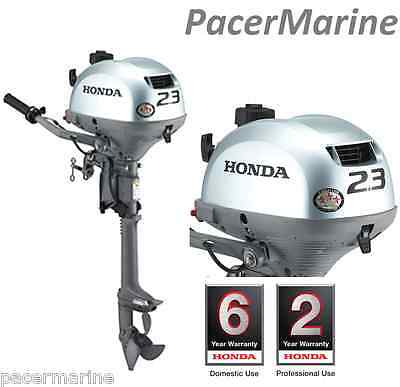 Honda BF2.3 Short Shaft Outboard & 5 Litre Jerry Can