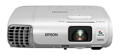 Epson EB-945H 3LCD Projector 10,000:1 3000 Lumens 1024x768 2.9kg Ethernet LAN