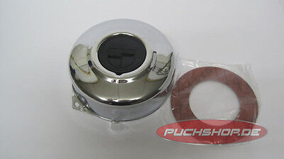 Polraddeckel Chrom Puch Maxi E50 Mofa Moped Chrome Polrad Deckel Flywheel cover