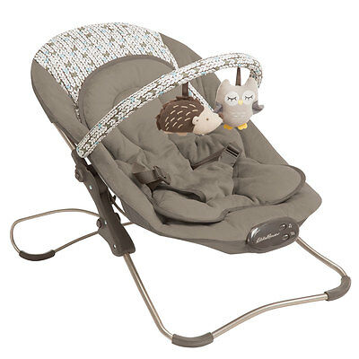 Eddie Bauer: Home & travel bouncer seat for baby infant & toddler