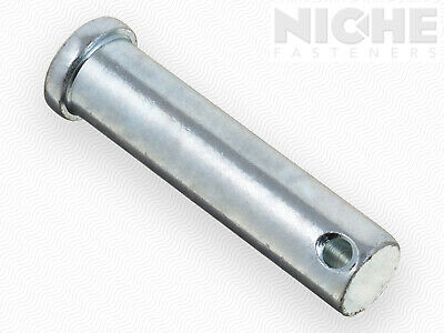 ITW Clevis Pin 1/2 x 2 Low Carbon Steel Zinc Clear (50 Pieces)