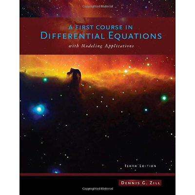 A First Course In Differential Equations With Modeling Apps 10th Int'l Edition