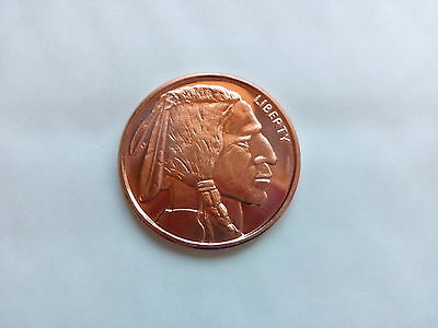 2 x 1/2 oz Copper Coin - Liberty Indian Head - Golden State Mint