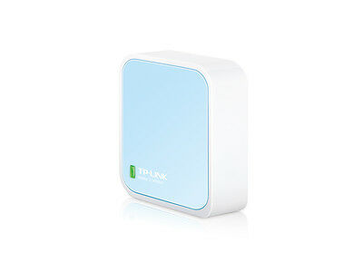 TP-LINK TL-WR802N NANO Wireless N 300Mbps Router Access Point Repeater WISP F43
