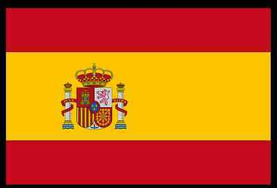 FLAG Spain Spanish Bandera De Espana National Flag 5ft x 3ft/155 x 90cm For Pole