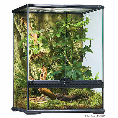 Exo Terra Glass Terrarium 450x450x600mm