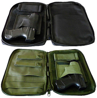 Tactical MOLLE Pistol & Accessories Pouch by Dhustone