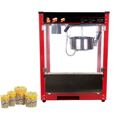 8oz Popcorn Popper Machine Maker Professional Commercial Home Theater