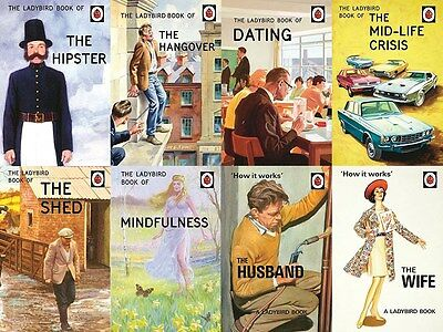 Ladybird Books for Grown-Ups 8 Book Set Collection (New Hardback books)