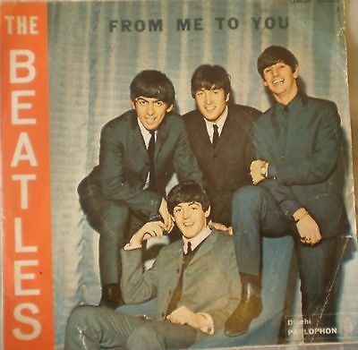 "# Beatles FROM ME TO YOU ITALY '64 (EX- EX--) 7""-S00074"