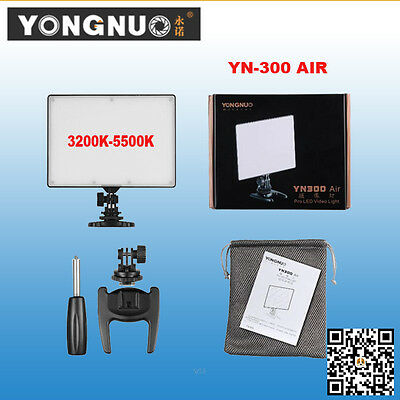 YONGNUO YN300 Air Pro SMD LED Video Light Studio for DLSR Camcorder Canon Nikon