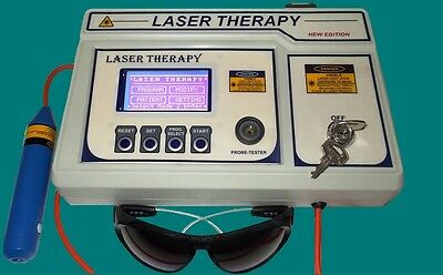 LASER THERAPY COMPUTERISED Semiconductor laser Machine for Physiotherapy YR465()