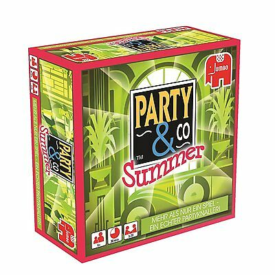 LOT 36637 | Jumbo 17696 Party & Co. Summer Partyspiel Familienspiel  NEU in OVP