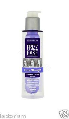 John Frieda Frizz Ease Extra Strength 6 Effects Serum 50ml Frizzy Hair Smoother