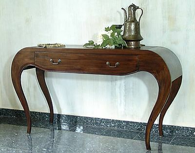 Console Desk Teakwood Dressing Table Drawer Coffee Table Display Cabinet Modern