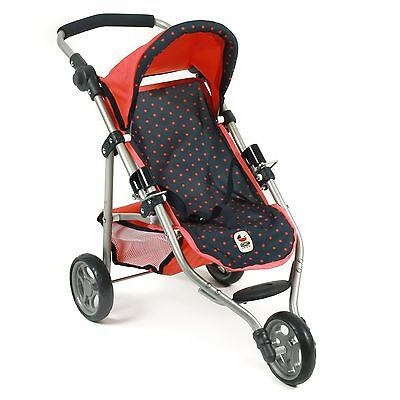 Bayer Chic 2000 Jogging-Buggy LOLA Dots Koralle TOP