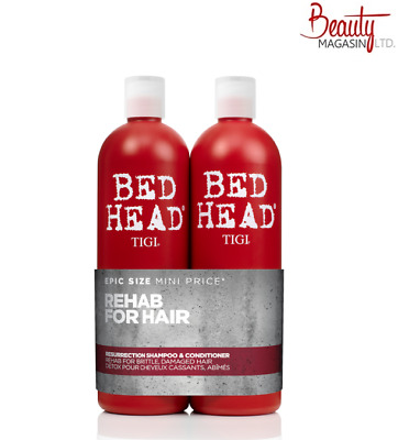 Tigi Bed Head Urban Antidotes Resurrection Shampoo & Conditioner 750 Ml Tween