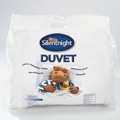 Silentnight 10.5 Tog Hollowfibre Duvet New with defect- Ultra Snug, Soft & Cosy!