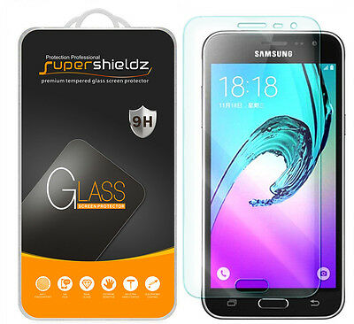 Supershieldz- Tempered Glass Screen Protector Saver For Samsung Galaxy J3 (2016)