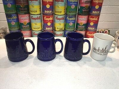4 Bennington Pottery Potteries Smithsonian Institution Coffee Mugs A+ (2 Styles)
