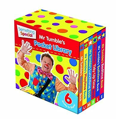 New Something Special: Mr Tumble's Pocket Library (Board Book) Free P&P