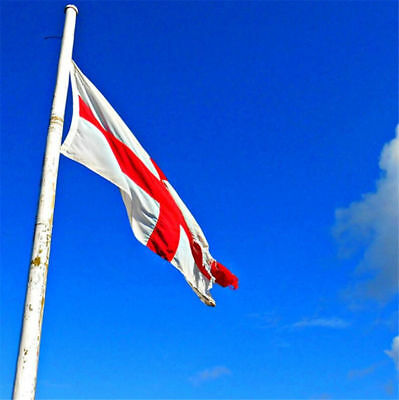 90x 150cm Outdoor England St George Cross English Banner National Flag Pennant