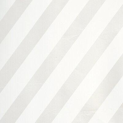 White with Pearl Stripes Wrapping paper,counter roll, gift wrap,500mm x 50m