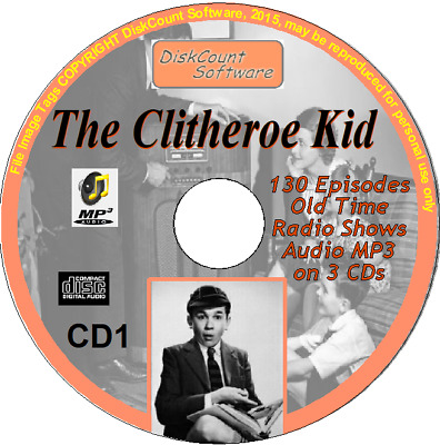 The Clitheroe Kid 58 Old Time Radio Episodes Audio MP3 CD OTR Jimmy Clitheroe