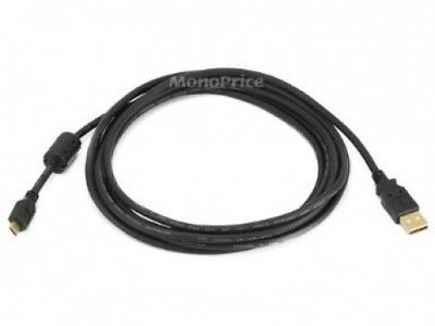 Monoprice 3m USB 2.0 A Male to Micro 5pin Male 28/24AWG Cable with Ferrite Core