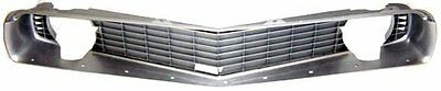 1969 Chevy Camaro Silver Grille - Free Shipping Within The Continental Usa