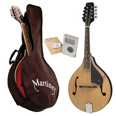 New Martinez Teardrop-Style Mandolin Pack (Natural Gloss)