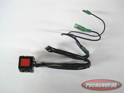 Engine stop Knopf Universell länge Kabel 30cm Lenkermontage Puch Maxi Mofa Teile