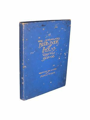 1907 Houston Texas Who's Who Standard Blue Book Photographs History