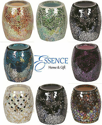 Village Candle Mosaic Electric Wax Melt/Oil  Burners - Multiple Design Available