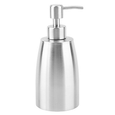 Stainless steel Liquid Pump Soap Lotion Dispenser Hand Sanitizer Bottle GT
