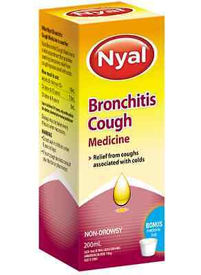 Best Price! Nyal Bronchitis Cough Medicine Non Drowsy 200Ml Discount Chemist