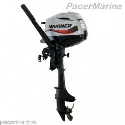 Mariner F3.5hp 4-Stroke Outboard Engine & Folding Outboard Trolley
