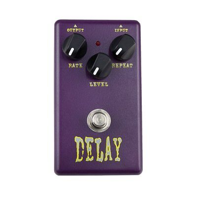 New Crossfire Analogue Delay Guitar Effects Pedal