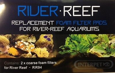 Interpet River Reef RR94 Replacement 2125 Media Pack. Free First Class Post!!!