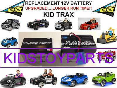Cat Bulldozer Long Lasting Replacement Kid Trax 12 Volt 15 Ah Recharge  Battery